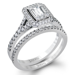 Simon G. Passion Wedding Set, Rings, Nazar's & Co. - Nazar's & Co.