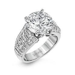 Simon G. Nocturnal Sophistication Engagement Ring Setting, Rings, Nazar's & Co. - Nazar's & Co.