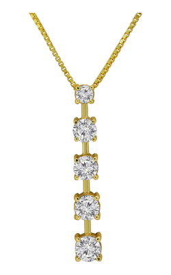 Diamond Drop Pendant Necklace, Necklaces, Nazar's & Co. - Nazar's & Co.