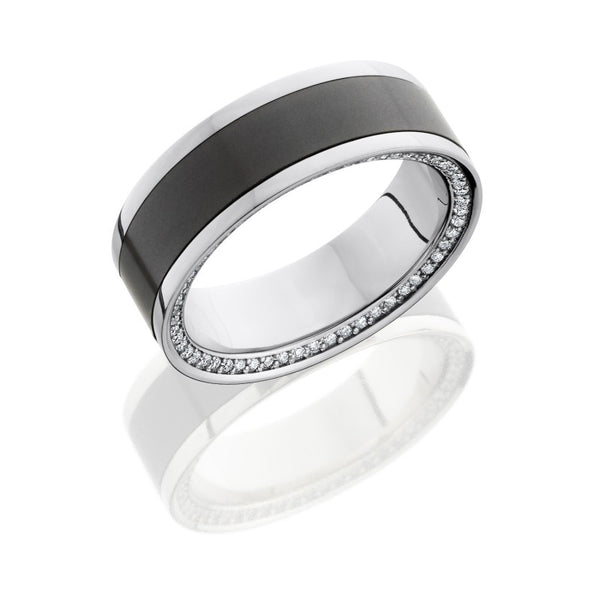 Lashbrook Elysium Men's Wedding Band, Rings, Nazar's & Co. - Nazar's & Co.