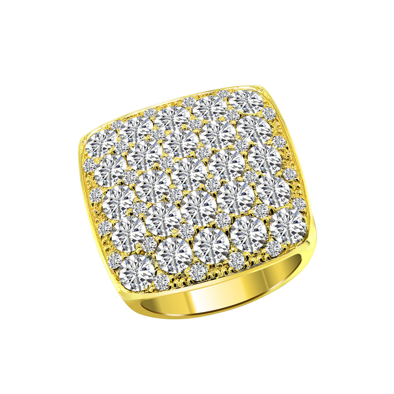 Nazar's Collection 14K Yellow Gold Diamond Ring - Nazar's & Co.