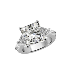 Platinum Diamond Engagement Ring Setting, Rings, Nazar's & Co. - Nazar's & Co.