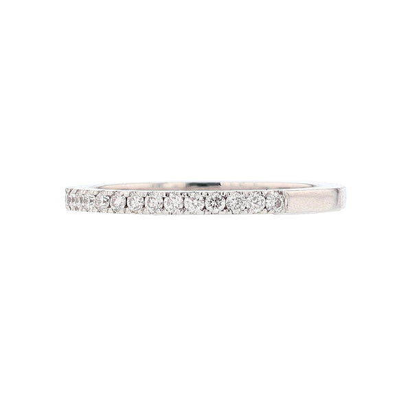14K White Gold Diamond Band, Rings, Nazar's & Co. - Nazar's & Co.