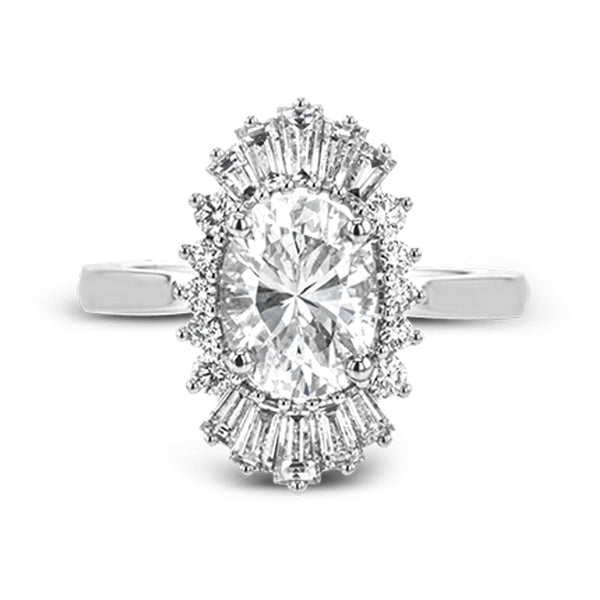 Simon G. Vintage Explorer Engagement Ring Setting, Rings, Nazar's & Co. - Nazar's & Co.