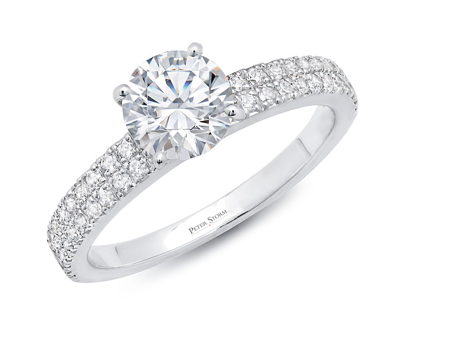 Peter Storm Engagement Ring Setting, Rings, Nazar's & Co. - Nazar's & Co.