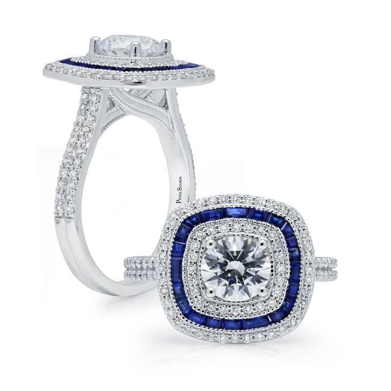 Peter Storm Engagement Ring, Rings, Nazar's & Co. - Nazar's & Co.