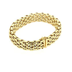 Fope Yellow Gold Bracelet - Nazar's & Co.