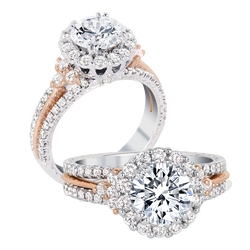 Jack Kelege Engagement Ring Setting, Rings, Nazar's & Co. - Nazar's & Co.