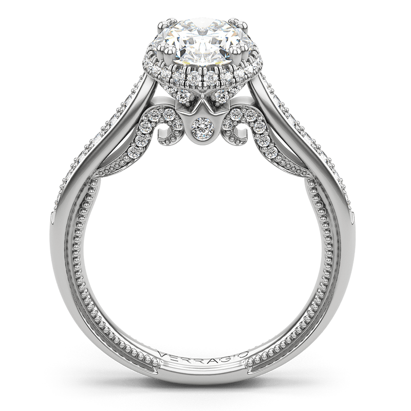 Verragio Insignia Oval Engagement Ring Setting, Rings, Nazar's & Co. - Nazar's & Co.