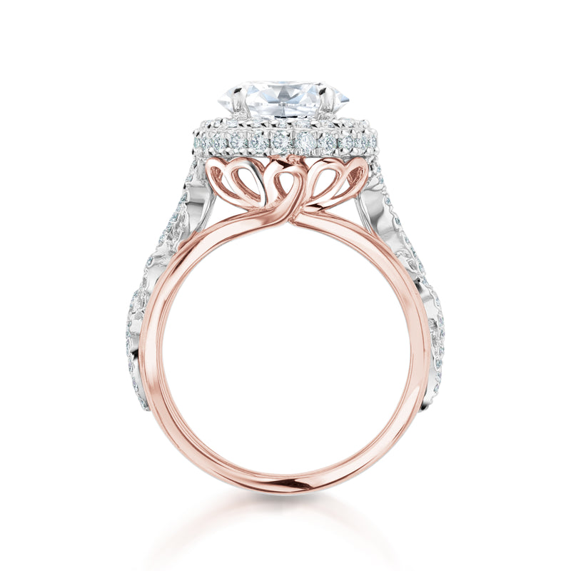 Nazarelle Diamond Engagement Ring Setting - Nazar's & Co.