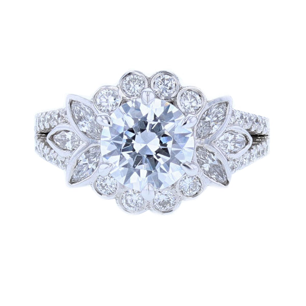 Nazarelle Diamond Engagement Ring Setting, Rings, Nazar's & Co. - Nazar's & Co.