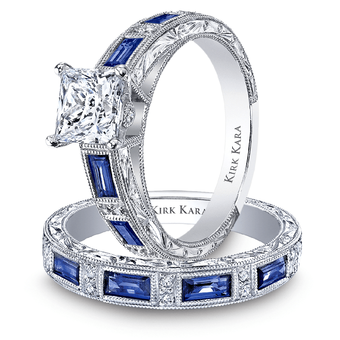KIRK KARA Charlotte Engagement Ring  Set, Rings, Nazar's & Co. - Nazar's & Co.