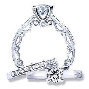 Verragio Paradiso Engagement Ring Setting, Rings, Nazar's & Co. - Nazar's & Co.
