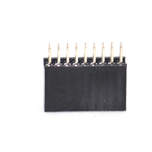 Berg Connector 1 row 2.54mm pitch Female, 16Pin