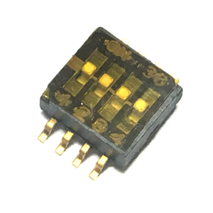 DIP switch 4 Way, SMD