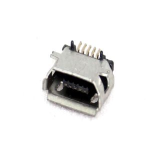 Type B Micro USB Connector  Female, 90 Deg