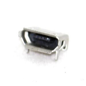 Type B Micro USB Connector  Female, DIP, 90 Deg