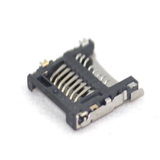 Micro SD memory Card connector Hinge Type