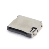 Micro SD memory Card connector Push Type
