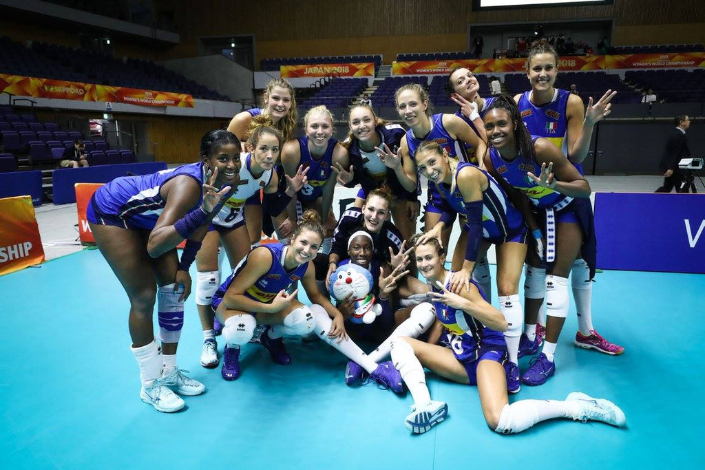 WOMEN'S WORLD CHAMPIONSHIP 2018: WITH 9 CONSECUTIVE VICTORIES, ITALY'S WOMEN GO THROUGH TO POOL F. NETHERLANDS BEAT SERBIA 3-0!