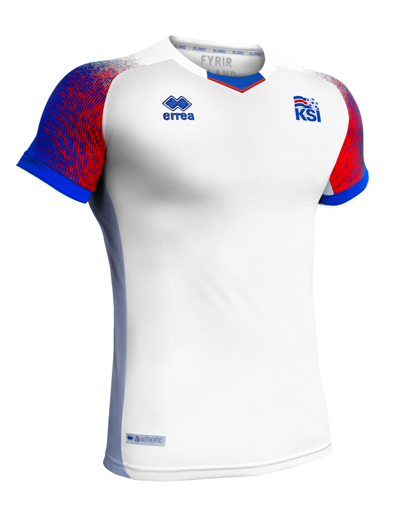 best service 4dab9 9d530 Iceland World Cup 2018 Official Away Jersey