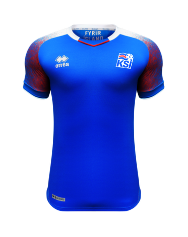 Iceland World Cup 2018 Official Home Jersey