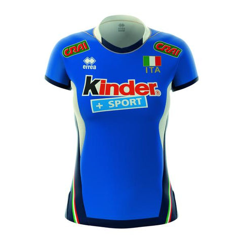 Women's Italian National Volleyball Replica Jersey 17/18