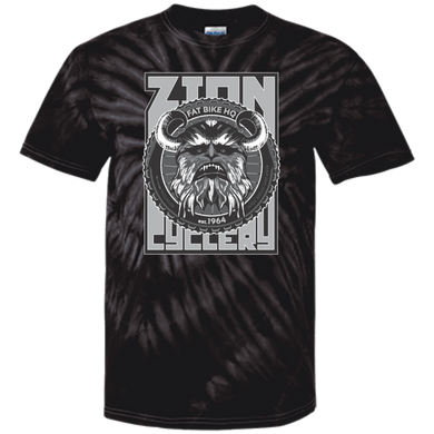 ZC Fat Bike Yeti 100% Cotton Tie Dye T-Shirt