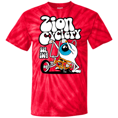 ZC Eyeball 100% Cotton Tie Dye T-Shirt