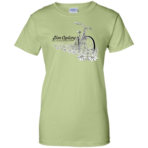 ZC Flowers Ladies' 100% Cotton T-Shirt