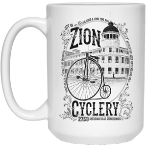 ZC Old Zion 15 oz. White Mug