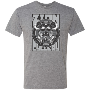 Zc Fat Bike Yeti Men's Triblend T-Shirt