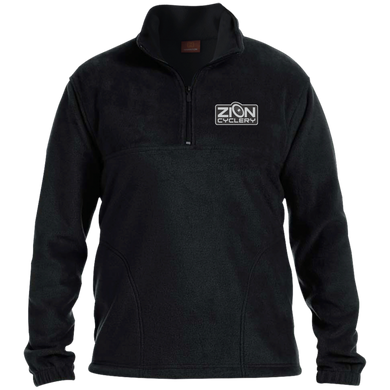 ZC Embroidered Harriton 1/4 Zip Fleece Pullover