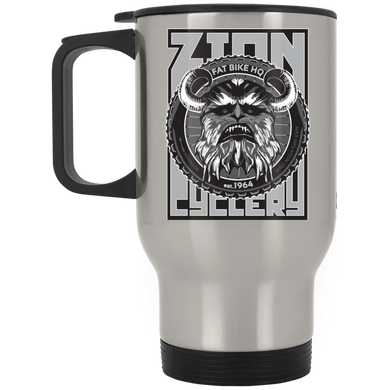 ZC Fat Bike Yeti Stainless Travel Mug