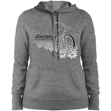 ZC Flowers Ladies' Pullover Hooded Sweatshirt