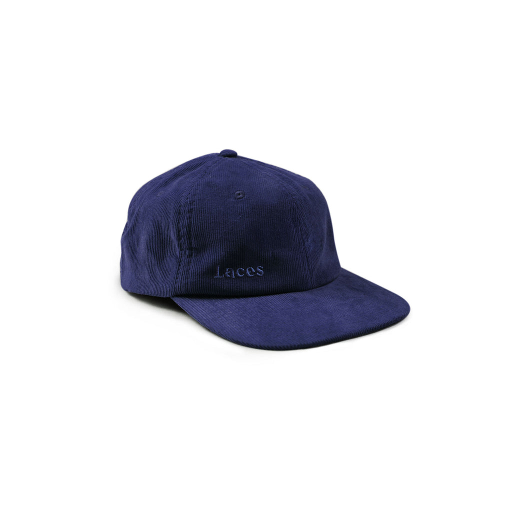 Navy AW18 Laces Cap