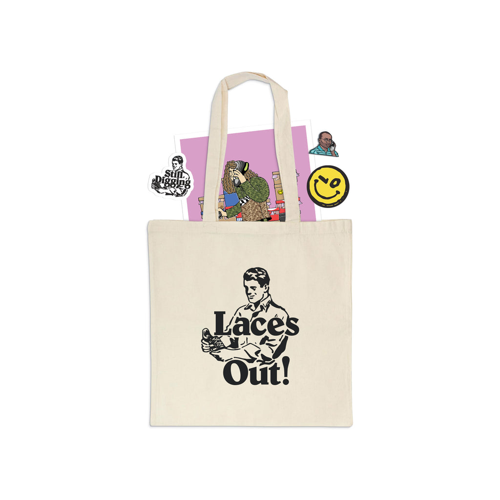 Laces Out! AW18 Goody Bag