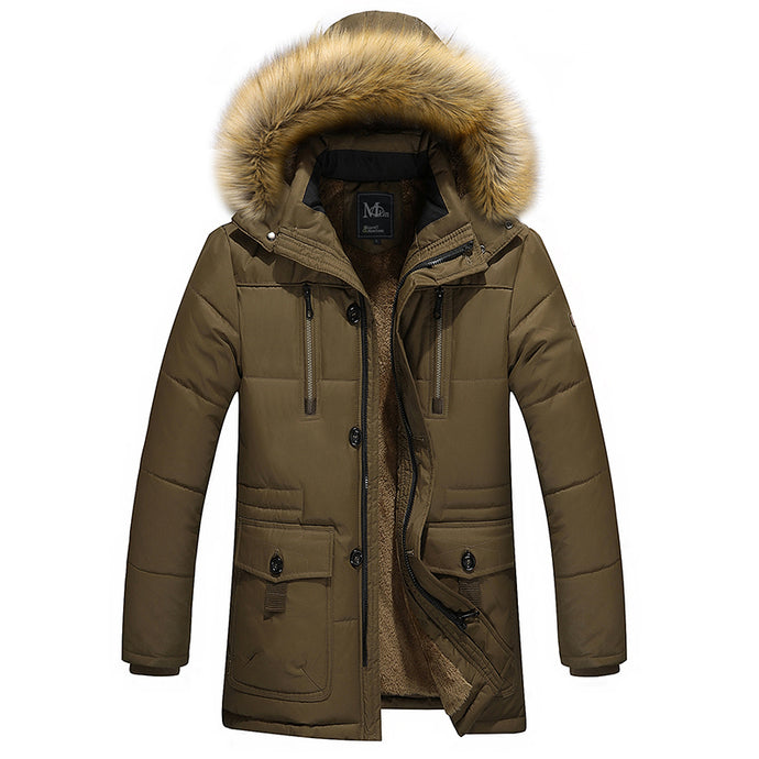 Plain Matterhorn Parka - One Dapper Gent