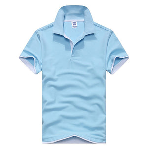 Vibrant Contrast Polo Shirt - One Dapper Gent