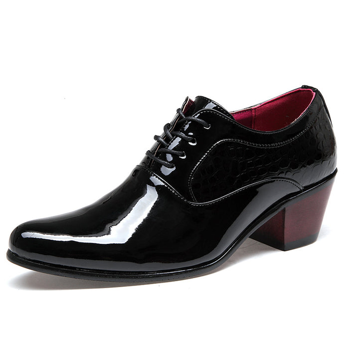 Height Increasing Pointed Oxfords - One Dapper Gent