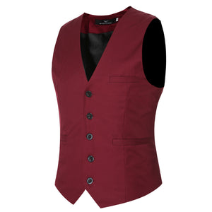 Vibrant Broadcloth Waistcoat - One Dapper Gent