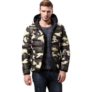 Camo Megeve Jacket - One Dapper Gent