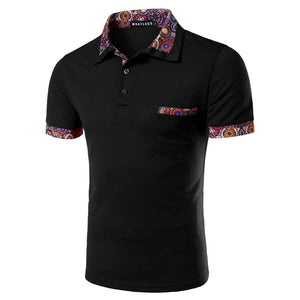 Floral Arm Polo Shirt - One Dapper Gent