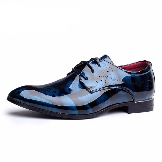 Floral Pattern Oxford Shoe - One Dapper Gent