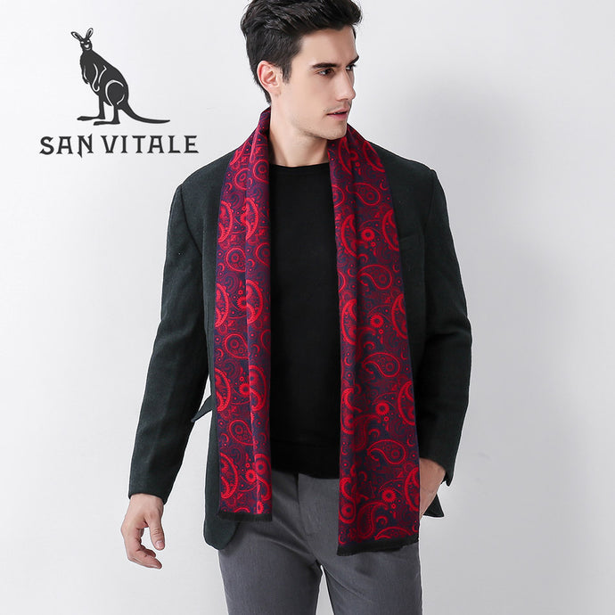 Floral Pashmina Scarf - One Dapper Gent
