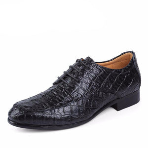 Lace Up Leather Oxfords - One Dapper Gent