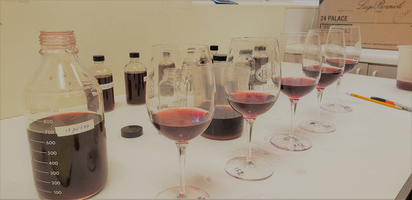 Washington Pinot Noir Blending Trials Bayernmoor Vineyard
