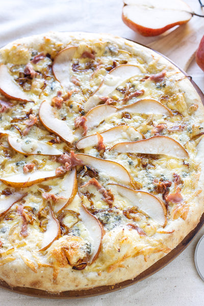 Wine And Food Pairings: Bayernmoor Chardonnay And Pear And Gorgonzola Pizza