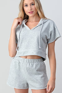 Grey Short Set