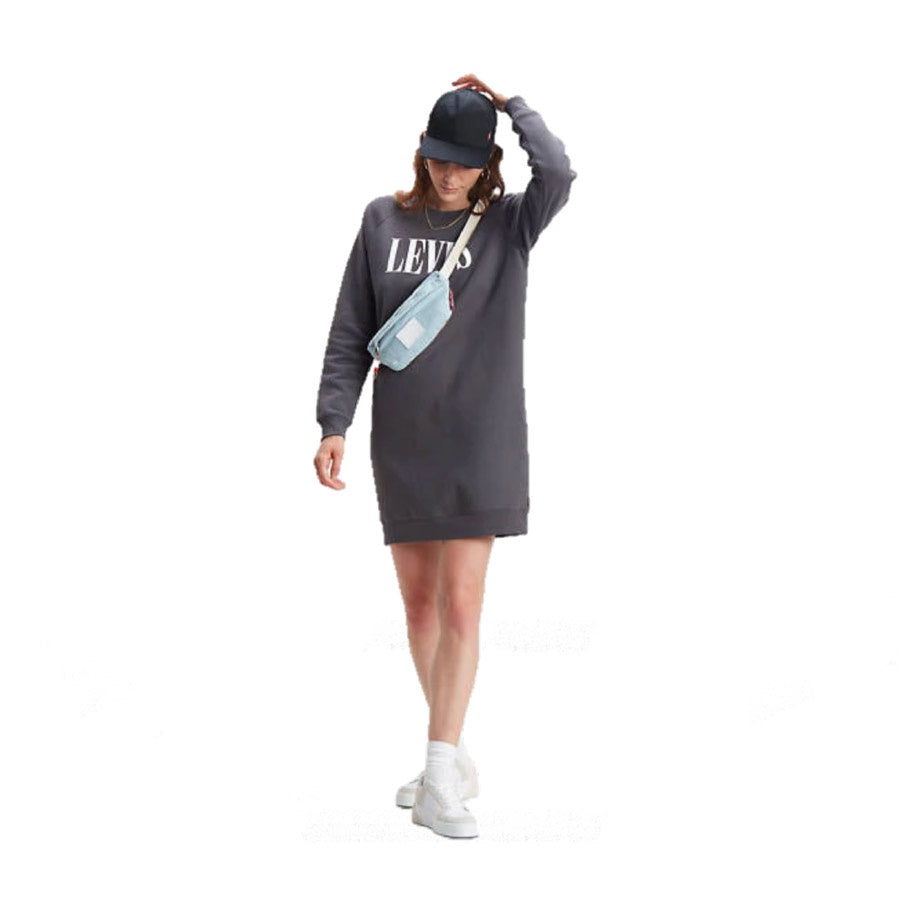 Levi's: Crew Sweatshirt Dress